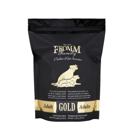 Fromm Gold Adult Dry Dog Food 15lb (Black)