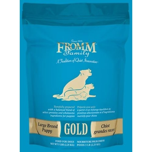 Fromm Gold Large Breed Puppy Dry Dog Food 15lb  (Lt Blue)