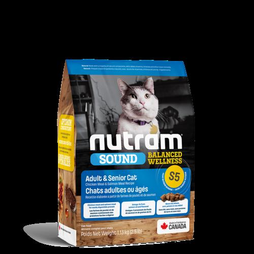 Nutram Cat S5 Sound Adult & Senior Dry 1.13kg