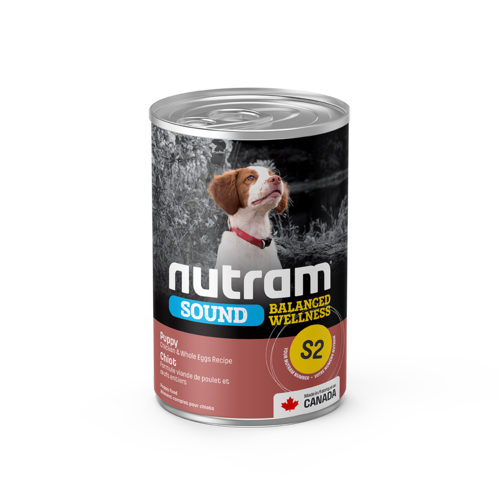 Nutram Dog S2 Sound Puppy Canned - Single