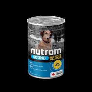 Nutram Dog S6 Sound Adult Canned - Single