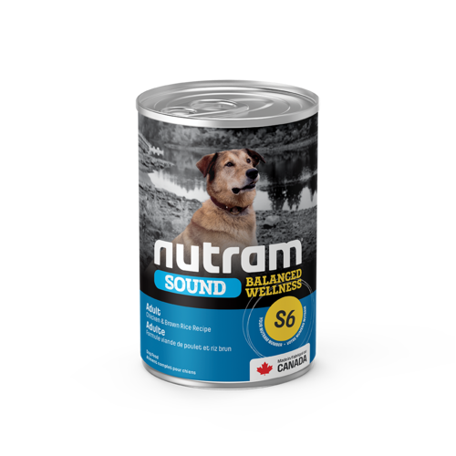 Nutram Dog S6 Sound Adult Canned - Single