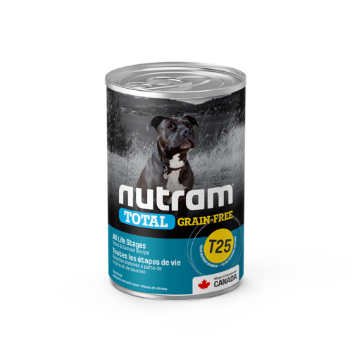 Nutram Dog T25 Total Grain Free Trout & Salmon Canned - Single
