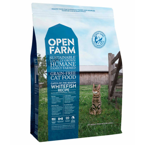 Open Farm Catch-Of-The-Season Whitefish Dry Cat Food 4lb