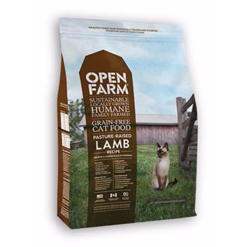 Open Farm Pasture-Raised Lamb Dry Cat Food 4lb
