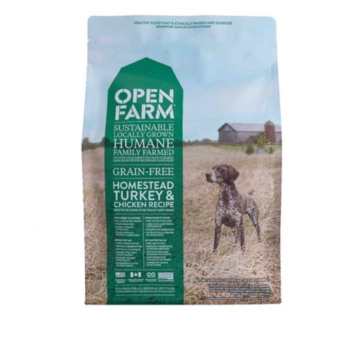 Open Farm Homestead Turkey & Chicken Dry Dog Food 4.5lb