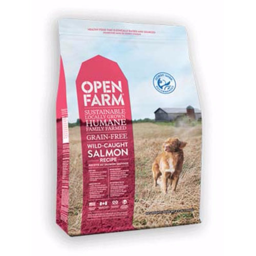Open Farm Wild-Caught Salmon Dry Dog Food 4.5lb