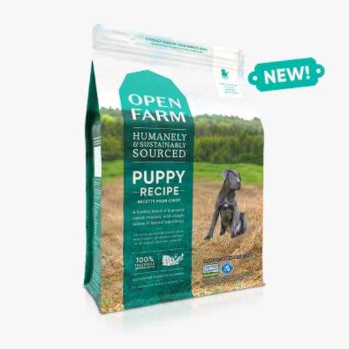 Open Farm Puppy Recipe Dry Dog Food 4.5lb