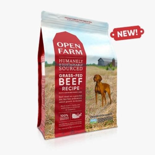 Open Farm Grass-Fed Beef Dry Dog Food 12lb