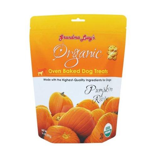 Grandma Lucy's Organic Pumpkin Baked Dog Treats 14oz