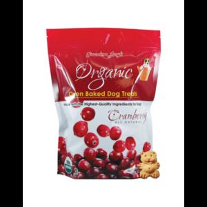 Grandma Lucy's Organic Cranberry Baked Dog Treats 14oz