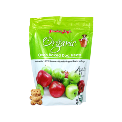 Grandma Lucy's Organic Apple Baked Dog Treats 14oz