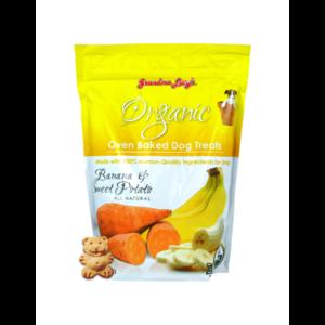 Grandma Lucy's Organic Banana & Sweet Potato Baked Dog Treats 14oz