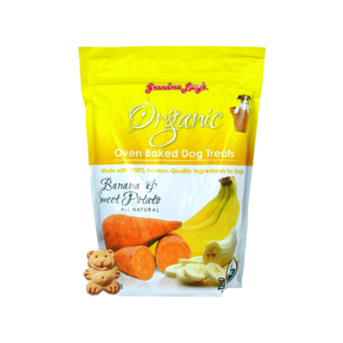 Grandma Lucy's Organic Banana & Sweet Potato Baked Dog Treats 14oz