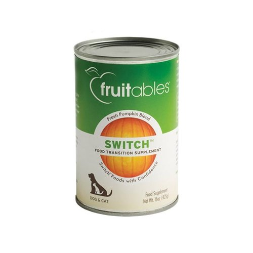 Fruitables Pumpkin Switch Food Transition Supplement 15oz can - each