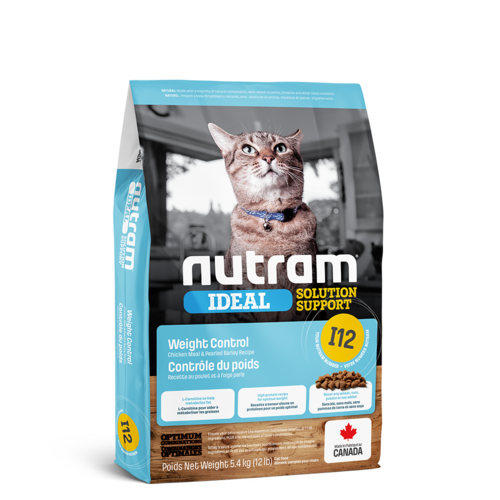 Nutram Cat I12 Ideal Weight Control Dry 5.4kg