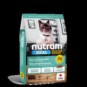 Nutram Cat I19 Ideal Skin Coat & Stomach Dry 5.4kg