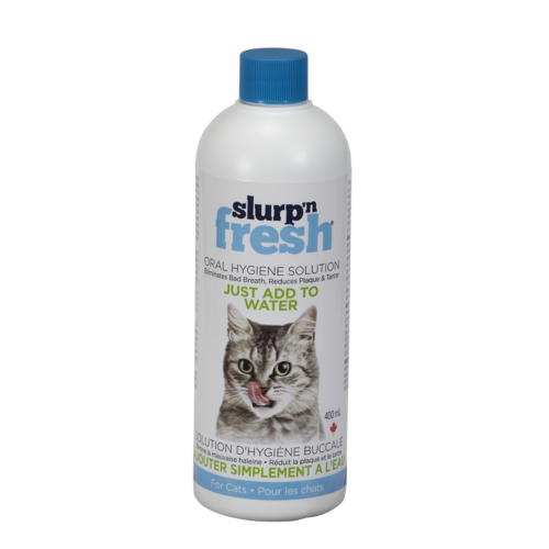 Envirofresh Slurp'N Fresh Cat Oral Hygiene Water Additive 400ml