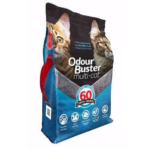 Odour Buster Multi-Cat Clumping Litter 12kg
