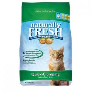 Naturally Fresh Walnut Clumping Cat Litter Original (green) 6.35kg