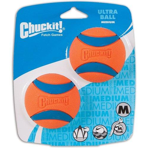 Canine Hardware Chuck it! Ultra Ball Medium 2pk