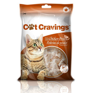 Cat Cravings Freeze Dried Chicken Breast 35g