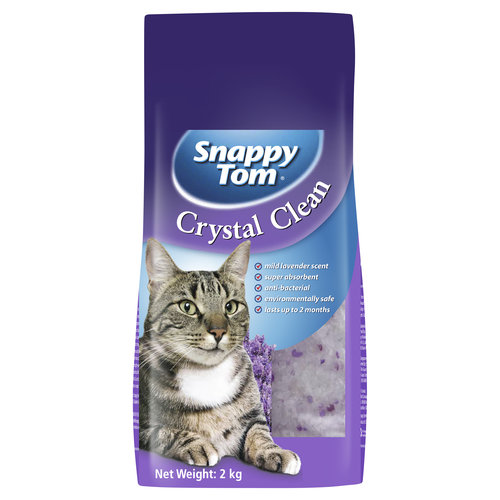Snappy Tom Crystal Litter Lavender 2kg - each