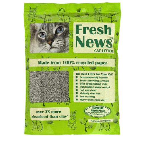 Fresh News Premium Paper Cat Litter 25lb