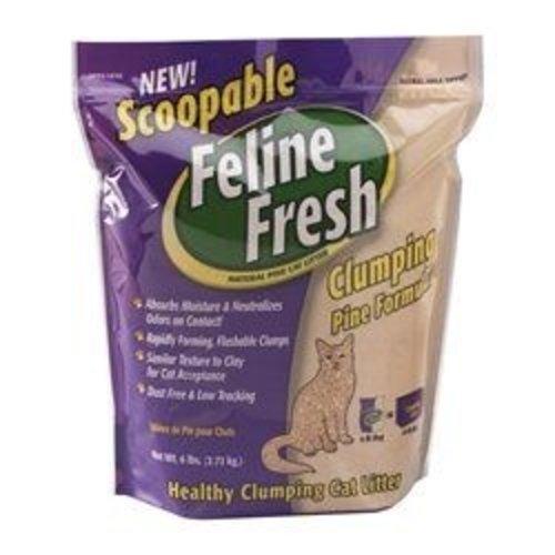 Feline Fresh Clumping Pine Cat Litter 7.7kg