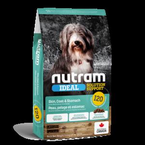 Nutram Dog I20 Ideal Skin, Coat & Stomach Dry 11.4 kg