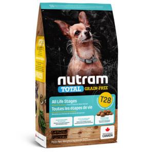 Nutram Dog T28 Total Grain Free Small Breed Trout & Salmon Dry 2kg