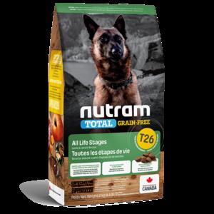 Nutram Dog T26 Total Grain Free Lamb & Lentils Dry 2kg