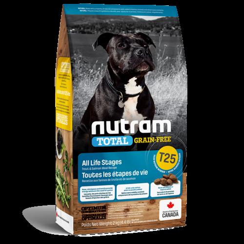 Nutram Dog T25 Total Grain Free Trout & Salmon Dry 2kg