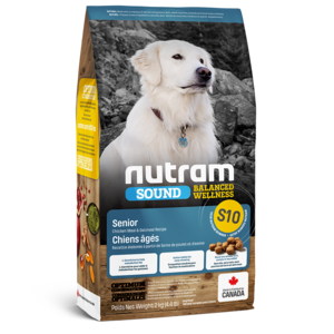 Nutram Dog S10 Sound Senior Dry 2kg
