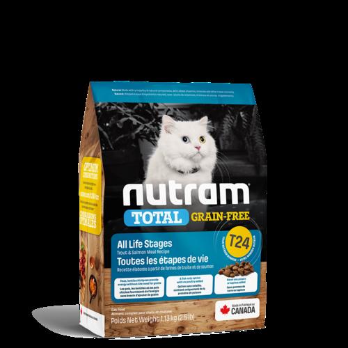 Nutram Cat T24 Total Grain Free Trout & Salmon Dry 1.13kg