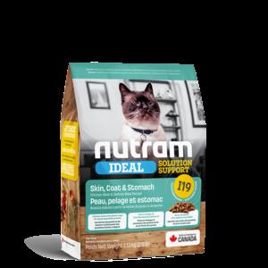 Nutram Cat I19 Ideal Skin Coat & Stomach Dry 1.13