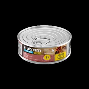 Nutram Cat S1 Sound Kitten Wet Food 5oz can - each