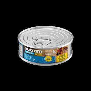 Nutram Cat S5 Sound Senior Wet Food 5oz can