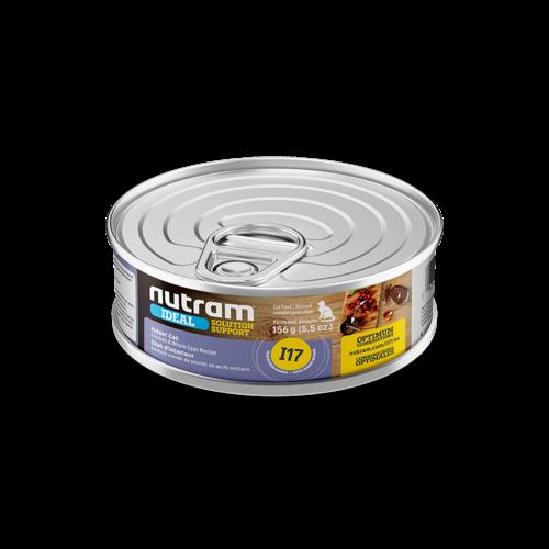 Nutram Cat I17 Ideal Indoor Wet Food 5oz can - each