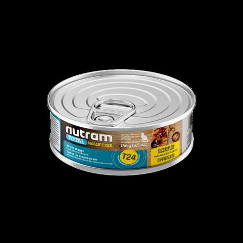 Nutram Cat T24 Total Grain Free Trout & Salmon Wet Food 5oz can