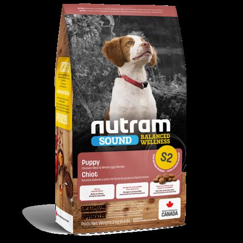Nutram Dog S2 Sound Puppy Dry 2kg