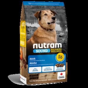 Nutram Dog S6 Sound Adult Dry 2kg