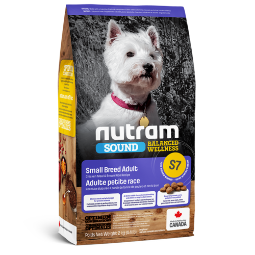 Nutram Dog S7 Sound Small Breed Adult Dry 2kg