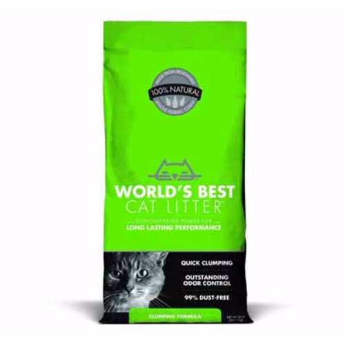 World's Best Cat Litter Original Clumping Cat Litter 14lb - green - each