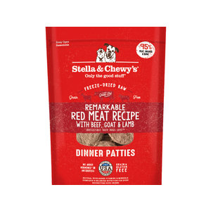 Stella & Chewy's Dog Red Meat Freeze-Dried Dinner Patties 14oz