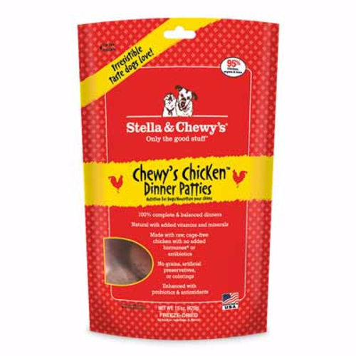 Stella & Chewy's Dog Chewy's Chicken Freeze-Dried Dinner Patties 14oz