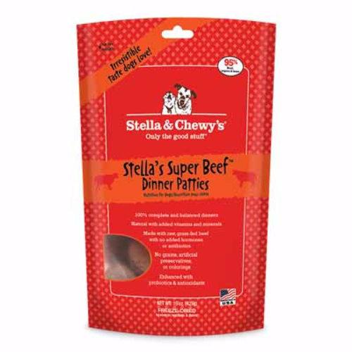 Stella & Chewy's Dog Stella's Super Beef Freeze-Dried Dinner Patties 14oz