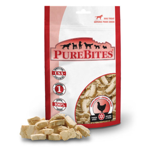 PureBites Dog Chicken Breast Freeze Dried Treats 175g