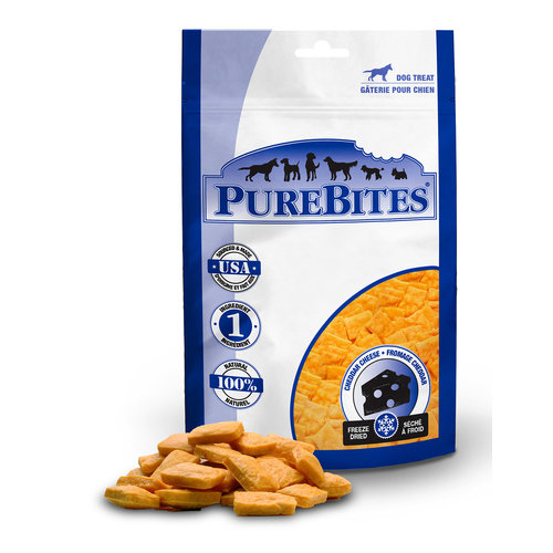 PureBites Dog Cheddar Cheese Freeze Dried Treats 120g