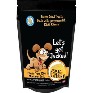 Choice Freeze Dried Cheese Treats Let's Get Jacked! 50g